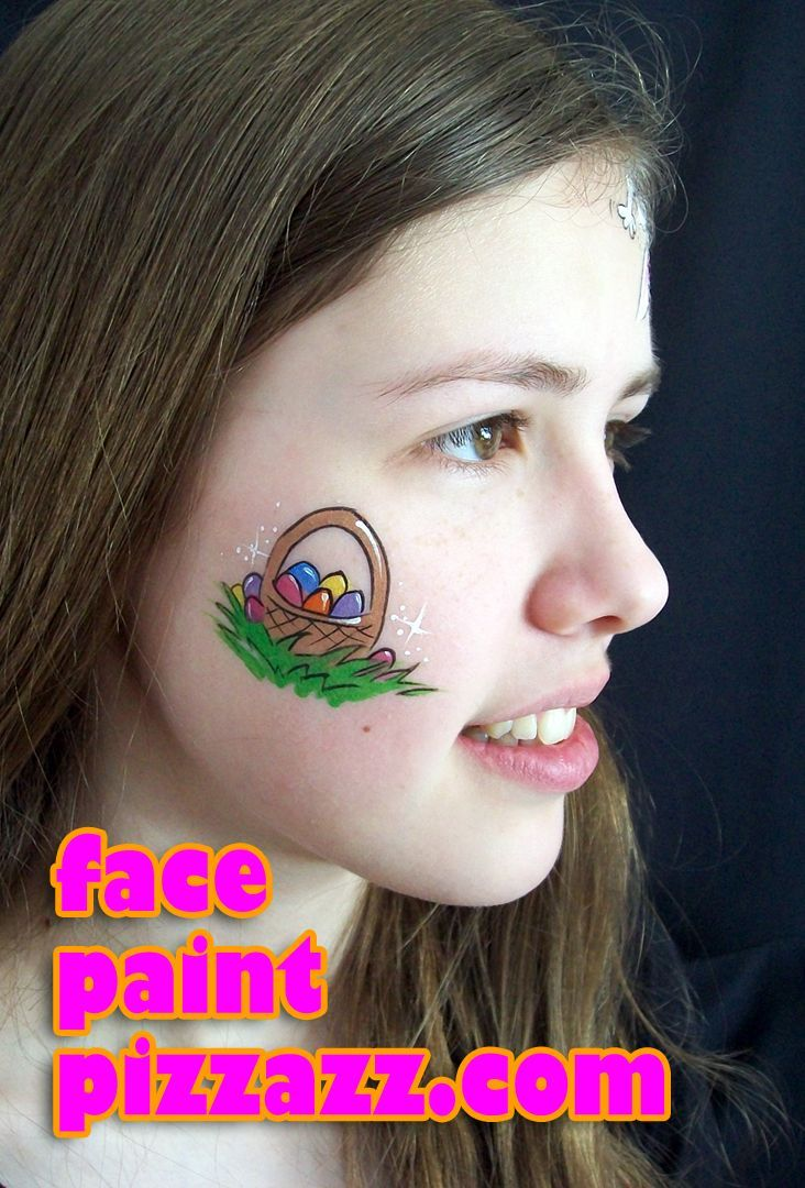 Easter Face Paint Ideas For Children Faces Fantasy Faces Easter Face M Body Art