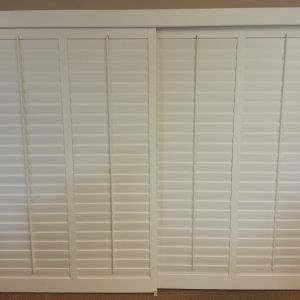 Faux Wood Shutters For Sliding Glass Doors