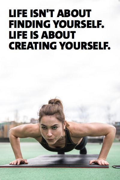 Fitness motivation: To achieve your goals in the gym and in life, it is vital to realize that you are the only one in control of your life. You must choose to chase your dreams. Your life is in your hands. No one else's. You have the power to become what you've always wanted to. It is up to you to put in the work, because no one will ever do it for you. Once you realize this, you will find endless opportunities before you. More workout plans and fitness motivation ►►► www.freeletics.com