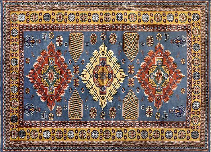 Кавказский шерстяной ковер