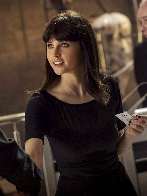 Felicity Jones in The Amazing Spider-Man 2 (2014)