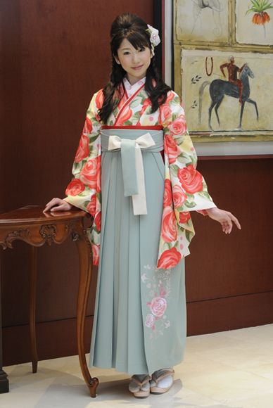 kimono with hakama