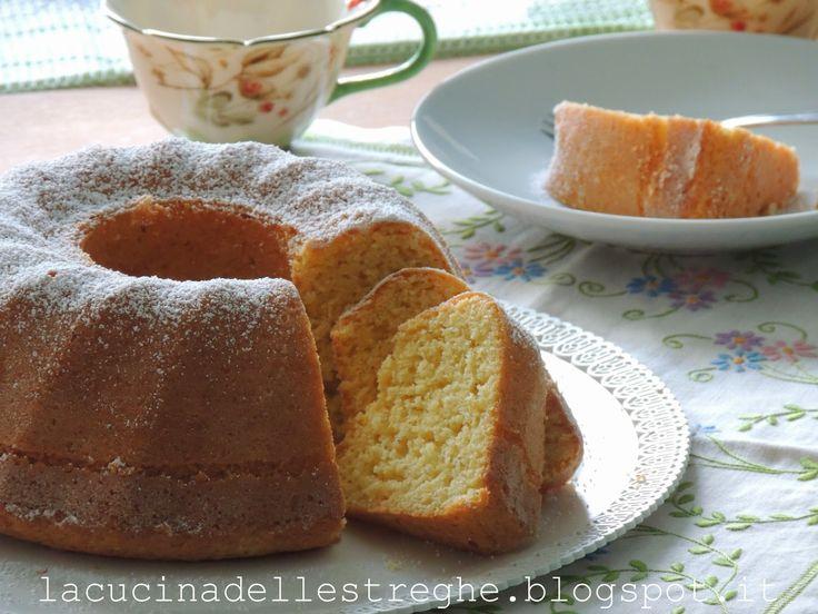 La cucina delle streghe: Ciambella di farina di riso all'arancia