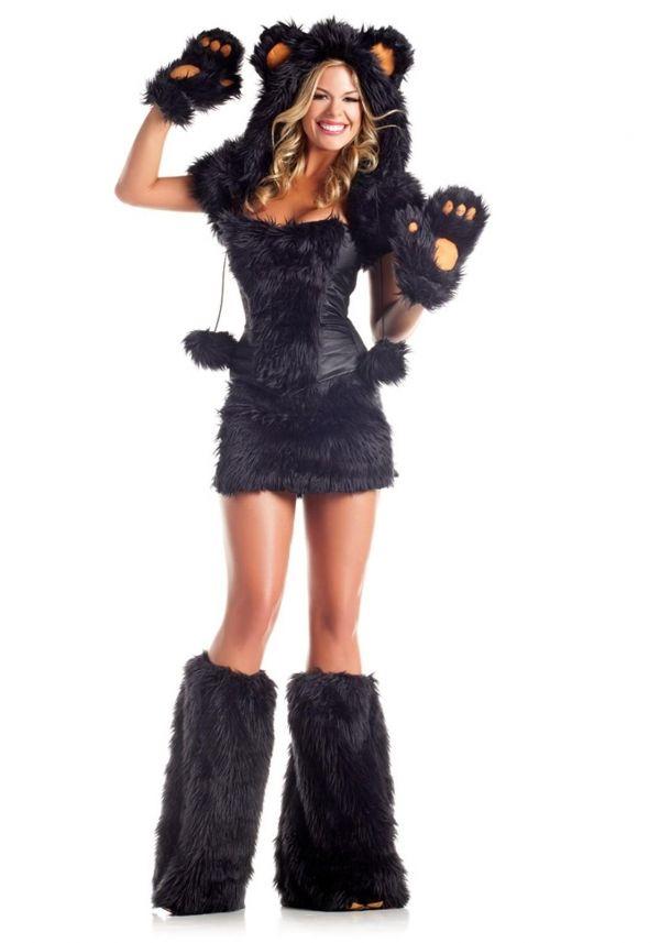 熊コスチュームハロウィン衣装-RR8178-0