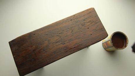 Les 25 meilleures id es de la cat gorie travail du bois sur pinterest boiseries menuiserie et - Vieillir du bois avec du cafe ...