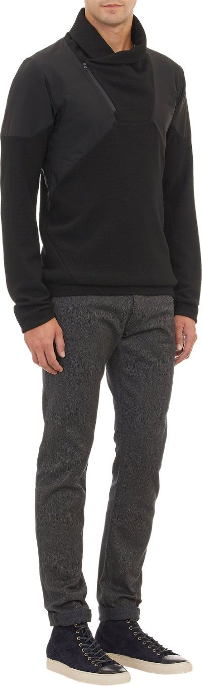 ArcTeryx Veilances Diale pullover sweater Layering Sweaters men - http://amzn.to/2hM9HTm