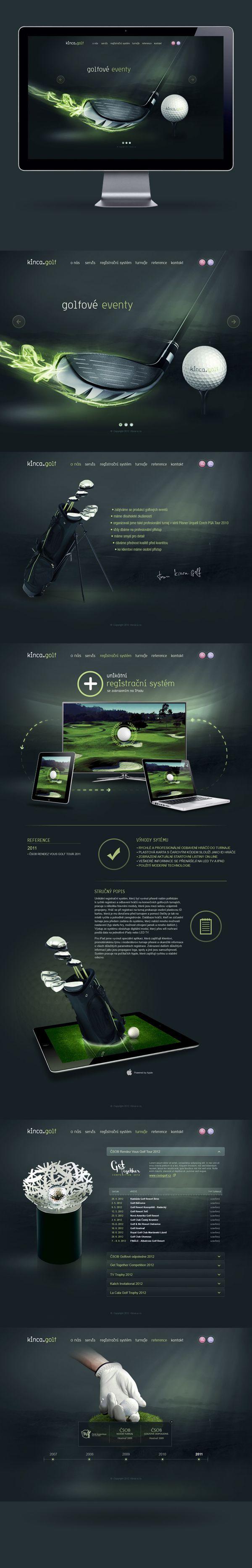 kinca.golf on Web Design Served