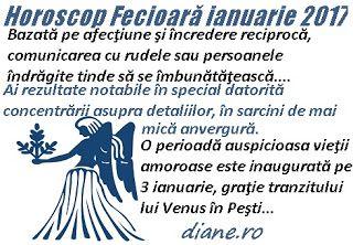 diane.ro: Horoscop Fecioară ianuarie 2017