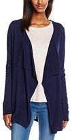 Esprit Women's Long Sleeve Cardigan Blue Blau (NAVY 400)