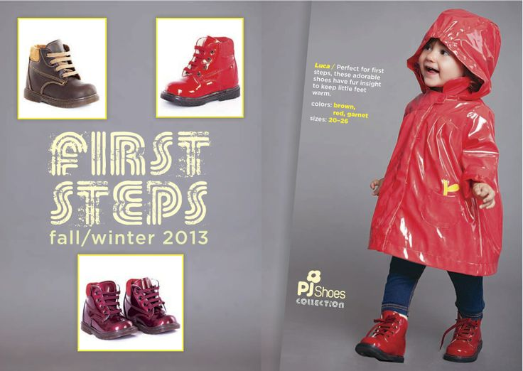 First steps winter cute boots