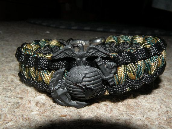 Usmc Memorial Bracelets Coullard Special Edition Black By Theagoge 23 00 Prestone Pinterest Marinearine Corps