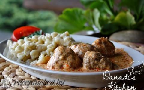 Húsgombóc bakonyi módra recept fotóval