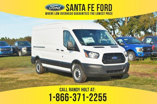 2019 Oxford White Ford Transit Van Rwd Automatic Regular Unleaded V 6 3 7 L 228 Engine Van 3 Door Ford Transit Ford Van