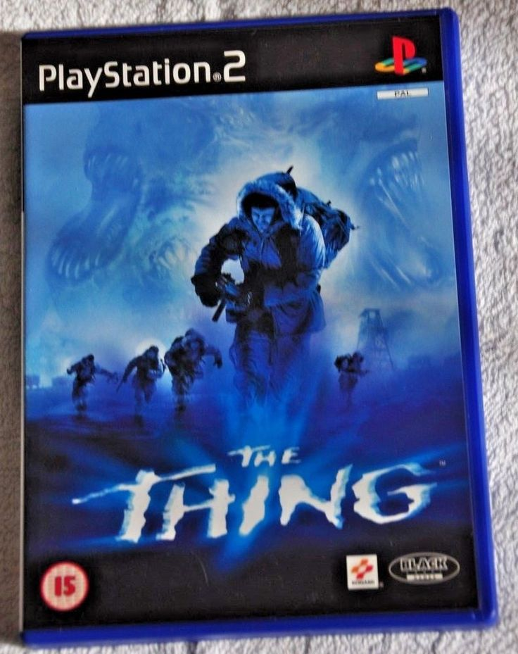 THE THING  Sony Playstation 2 Video Game PS2