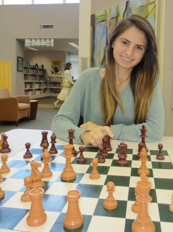 Staples High School grad (Westport CT) wins many chess tournaments
