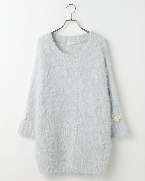 【雑誌掲載】シャギーニットワンピース|渋谷109で人気のガーリーファッション リズリサ公式通販