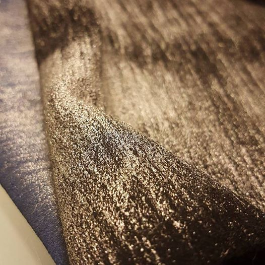 SAMSARA  Very nice metallic effect by hand on a split calf leather Useful for many types of shoes and other objects