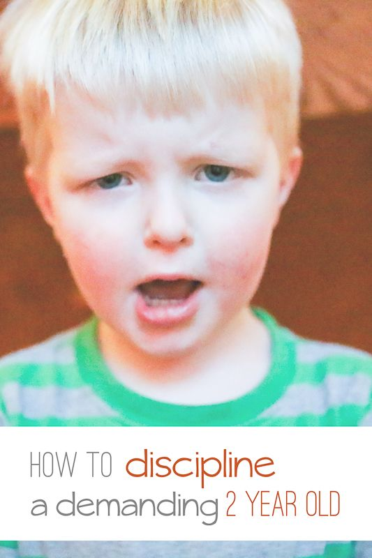 How to Discipline a Demanding 2 Year Old