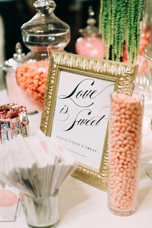Eine Candy Bar für Ihre Hochzeit: Lassen Sie sich von diesen süssen Ideen verzaubern!