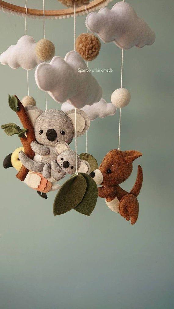 Koala Baby Mobile Inspired By Australia Animals