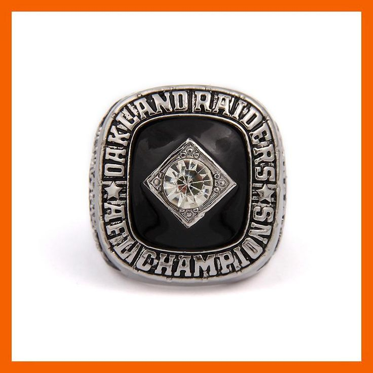 1967 OAKLAND RAIDERS AFC CHAMPIONSHIP RING