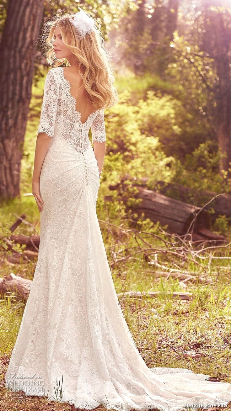 Elegant wedding dress. Forget about the soon-to-be husband, for the ...