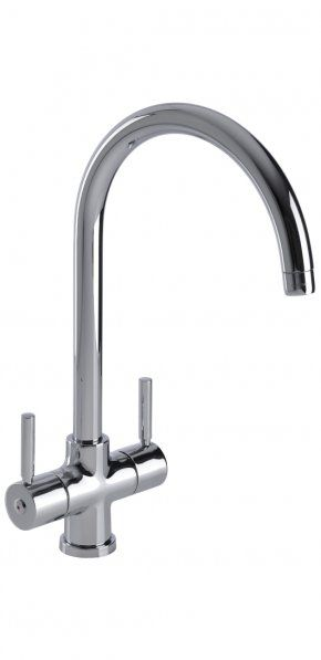 The perfect mix of contemporary design and engineering results in the Camden triple flow, cruciform filter tap. The Camden graces any kitchen, even in the more traditional setting. We have seen it in a farmhouse kitchen and it looked right at home.