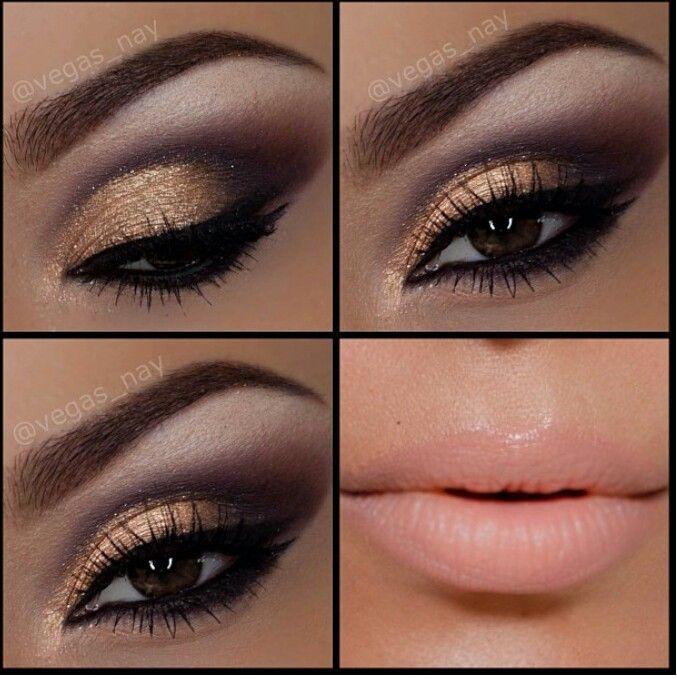 vegas nay makeup i makeup pinterest vegas makeup makeup and gold eyes. Black Bedroom Furniture Sets. Home Design Ideas