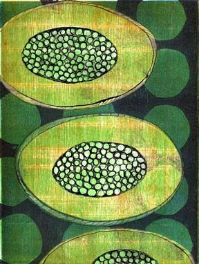 Plenty by Jan Lor - monotype - Love the colours too. S