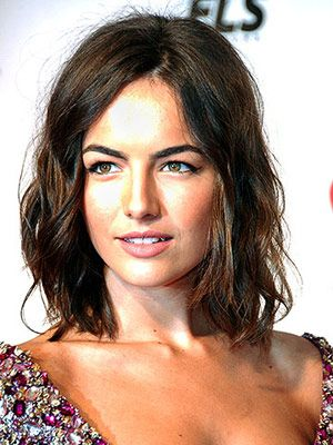 "The ""new"" bob isn't as severe as the classic—and looks great with lots of texture, like Camilla Belle's slightly tousled waves.  How to do it: Apply a root amplifier to wet locks, then blow-dry hair upside down without using a brush, advises Dufourg. Use a large-barrel curling iron to add soft shape, and a sculpting pomade for definition. Jazz it up further by pinning one side back with a series of pretty barrettes."