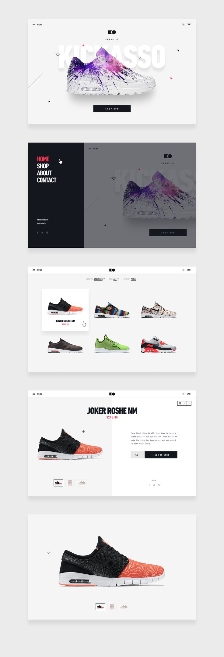 Moaaar comps of this sweet ecommerce baby.  Follow our @STRV team profile for more! http://ecommerce.jrstudioweb.com/