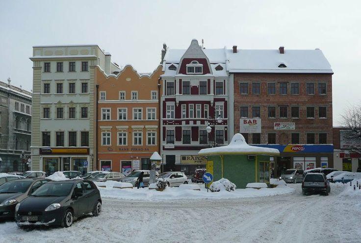 Dzierżoniów Rynek między Ząbkowicką a Kościelną