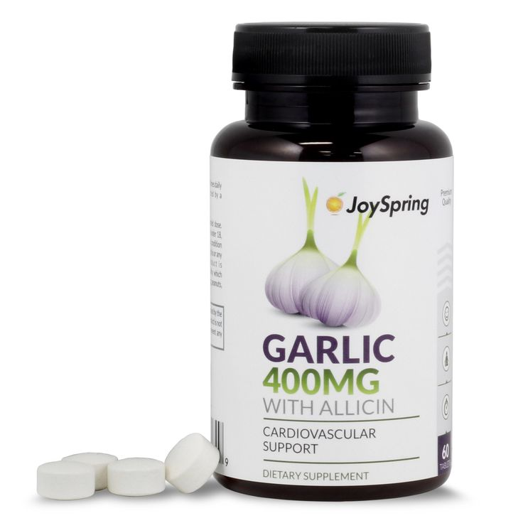 Odorless Garlic Supplement with Allicin  | [I took garlic pills for a while - not because a doctor prescribed it (not from a prescription). (FahmeenaOdetta)]