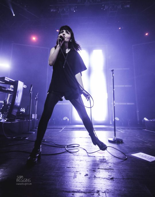 Lauren Mayberry of CHVRCHES live from House of Blues Orlando!