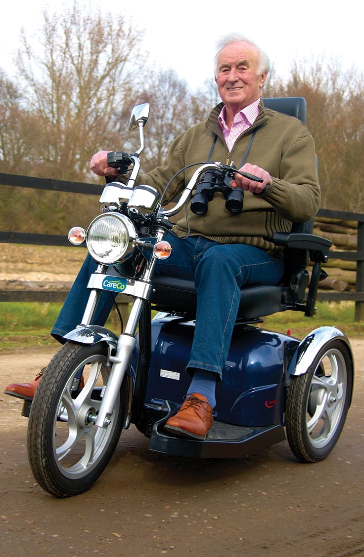 Get about in style with the CareCo Cruiser Mobility Scooter.
