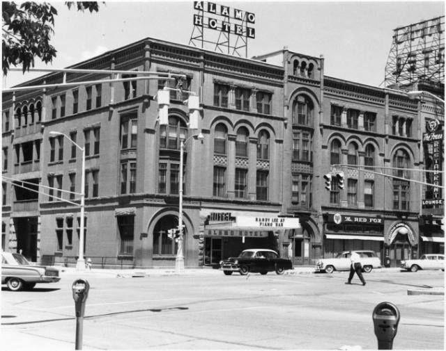 Alamo Hotel ~ Tejon St ~ Colorado Springs Colorado ~ 1965