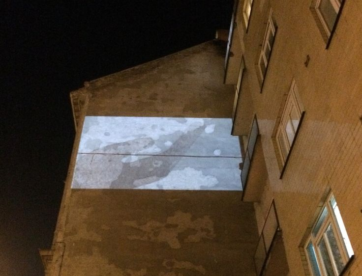 Visual wall / Prague