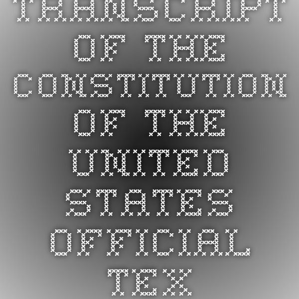 an analysis of the article ii of the united states constitution Article 2, section 1 of the text of the united states constitution (drafted 1787, ratified 1788, effective 1789) from preamble to the constitution to the first amendment through 27th amendment, with separate pages for article sections and amendments.