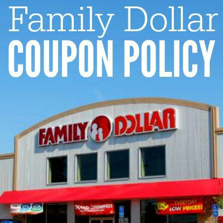 Printable coupons family dollar