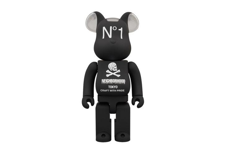 NEIGHBORHOOD x Medicom Toy 400% Bearbrick.: Art Toys, Medicom Toys, Neighborhood Bearbrick 400 01, 1 6 Bearbrick, Toy Neighborhood, J Aime Jouet Toy, Neighborhood 400, Toy 400