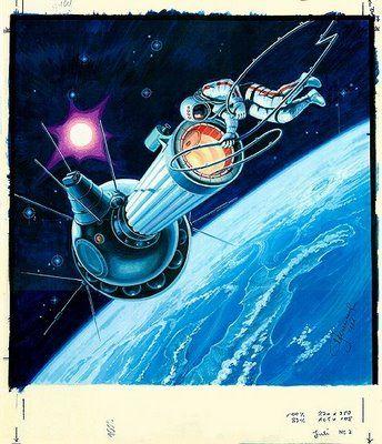 Space Artists: Alexei Leonov: A Soul in Space