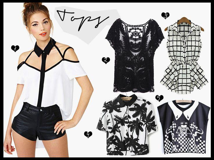 Sheinside Favorites #black & #white