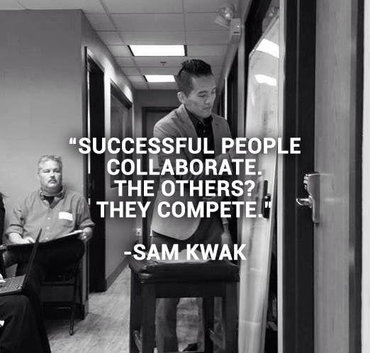 Collaboration equals success