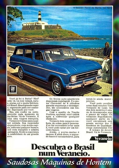 Propaganda Carro Veraneio by Luiz Fernando / Sonia Maria, via Flickr