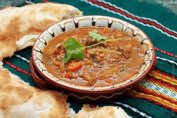 Суп харчо - грузинский говяжий суп