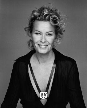 Efva Attling (1952-), Swedish jewellry designer, former model and singer