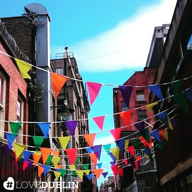 Dublin is full of colour, from flowers in Stephen's Green to art on the street walls! Share your photos of colourful Dublin using #LoveDublin like @trinitycity_hotel did with these beautiful flags! #LoveDublin #love #Dublin #vsco #vscocam #travel  #photoftheday #pic #picoftheday #ff #tip #ireland #photo #art #photography #artist