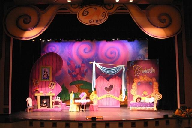 Cinderella's house - pink door?