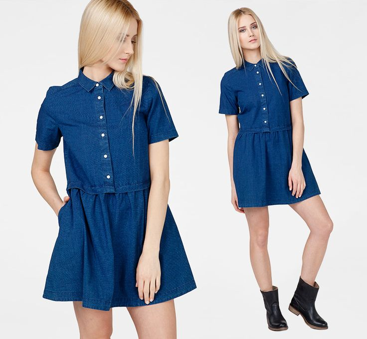 #liveinlevis #levis #women #womencollection #onlinestore #online #tshirt #dress #dresses #denim #jeans #levisdress #new #newcollection #newarrivals #fw15 #fallwinter15