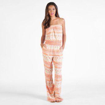 Volcom - Womens Quincy Davis Romper Romper Dress, Size